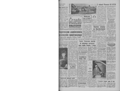 Gazeta Białostocka 1964, nr 36