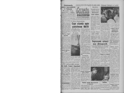 Gazeta Białostocka 1964, nr 43