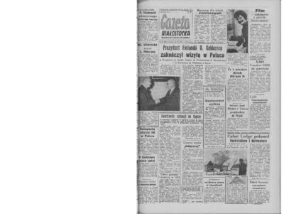 Gazeta Białostocka 1964, nr 61