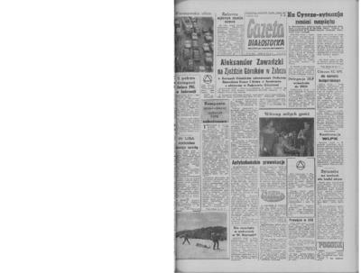 Gazeta Białostocka 1964, nr 62