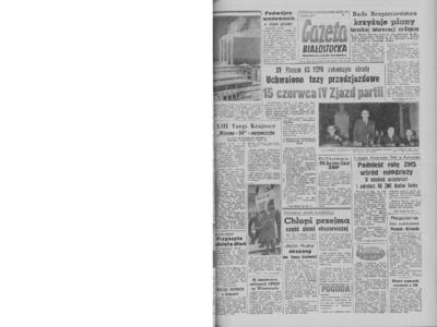 Gazeta Białostocka 1964, nr 64
