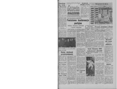 Gazeta Białostocka 1964, nr 99