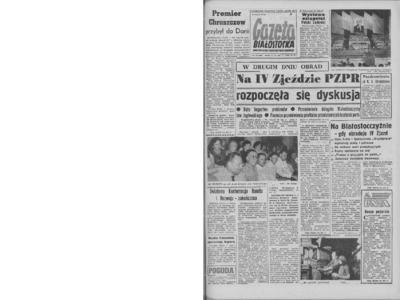 Gazeta Białostocka 1964, nr 143