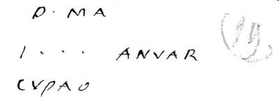 Épitaphe de Ianuarius ?