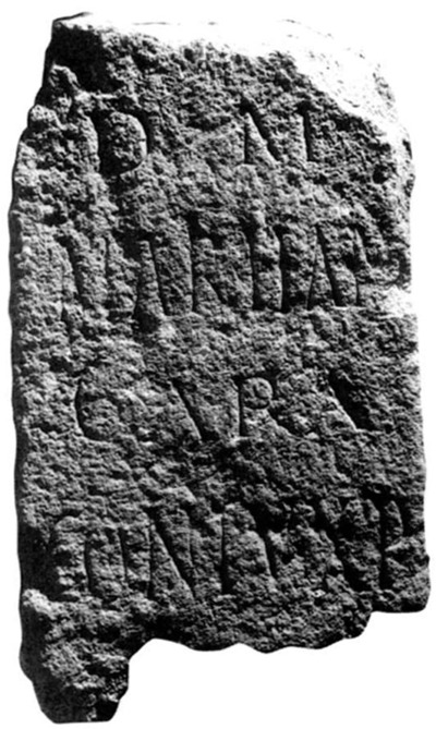 Epitaphe de Martianus