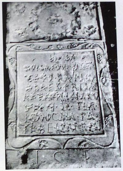Épitaphe de T. Bassus Decimus, vétéran de la première aile des Astures