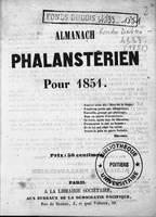 Almanach phalanstérien pour 1851