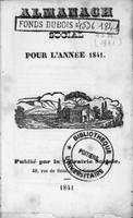 Almanach social pour 1841
