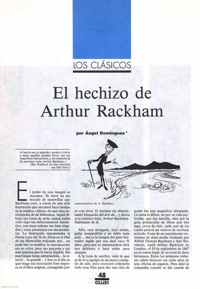 El hechizo de Arthur Rackham