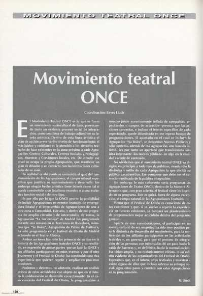 Movimiento teatral ONCE