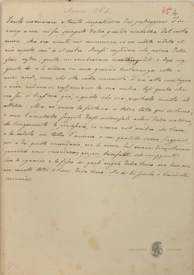 Αυτόγραφα Σολωμού - Πεζά Σχεδιάσματα, Αντίγραφο Ιάκωβου Πολυλά.
