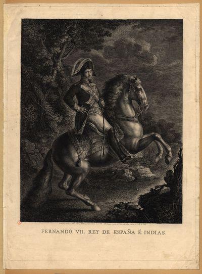 Fernando VII, Rey de España e Índias