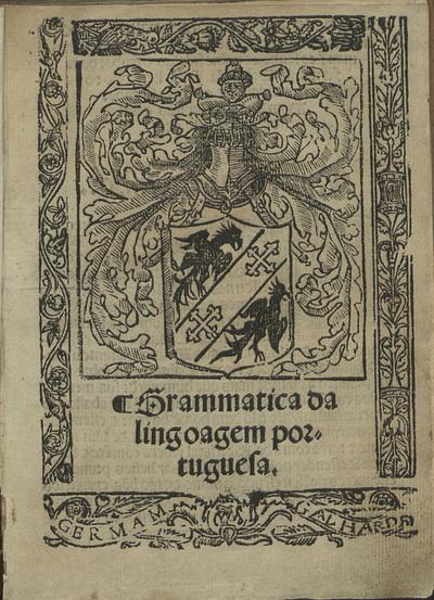 Grammatica da lingoagem portuguesa
