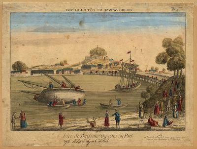 Vue de Bayonne du côté du port
