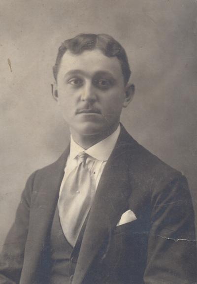 Portrait of Voja Karamarkovic