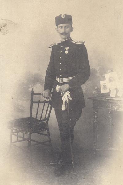 Portrait of lieutenant J. Jovicic