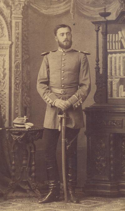 Portrait of lieutenant Ljubomir I.