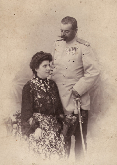 Portrait of Milica and Kostica Popovic