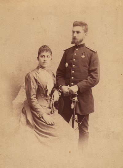Portrait of Jelena and Stevan Ilic