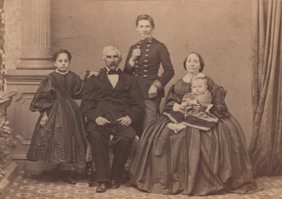Group portrait of family Markovic from Belgrade