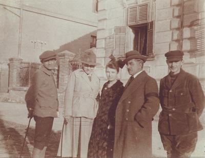 Group portrait of Terzibasic family
