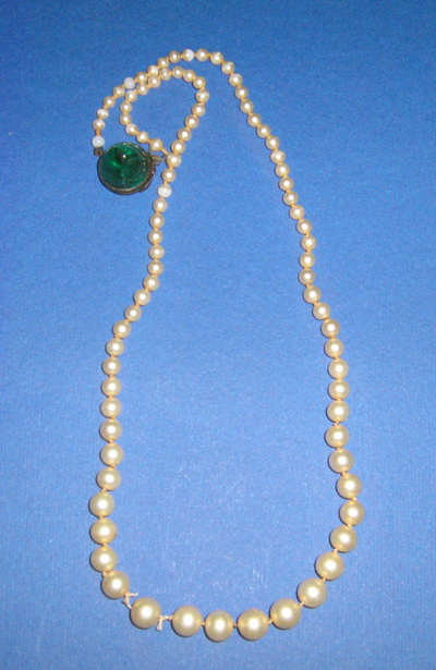 Necklace; worn by Osta Roš from Belgrade