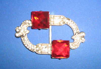 Buckle; worn by Osta Roš from Belgrade