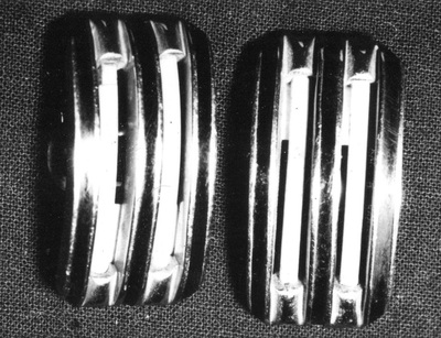 Shoe clips, worn by Osta Roš from Belgrade.
