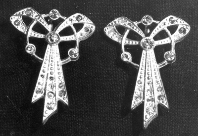Shoe buckles, worn by Osta Roš from Belgrade.