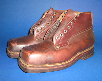 Climbing shoes, worn by Jelena Vukosavljević from Belgrade