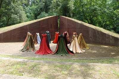 Stage costume  for Dame per Romeo e Giulietta