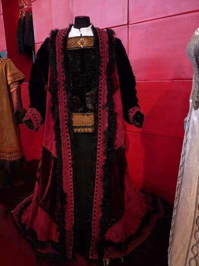 Stage costume  for Attila