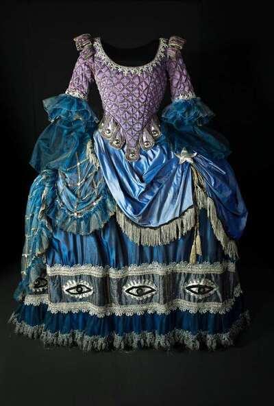 Stage costume  for Costume di repertorio confezionato dalla Casa d'Arte Cerratelli