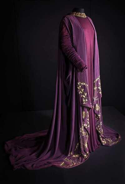 Stage costume  for Lucilla per La Caduta dell'Impero Romano