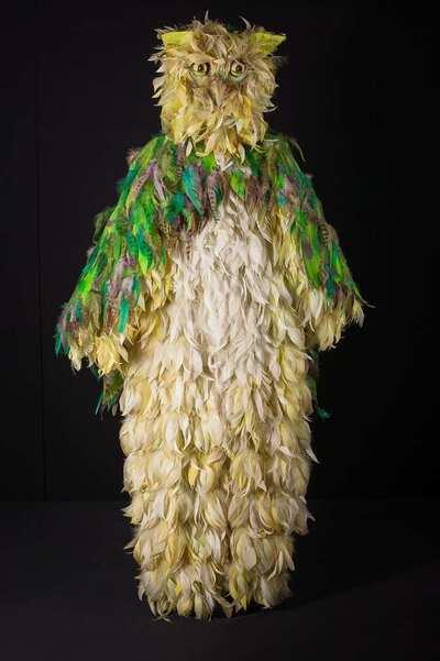 Stage costume  for Civetta per  L'enfant et les sortilèges