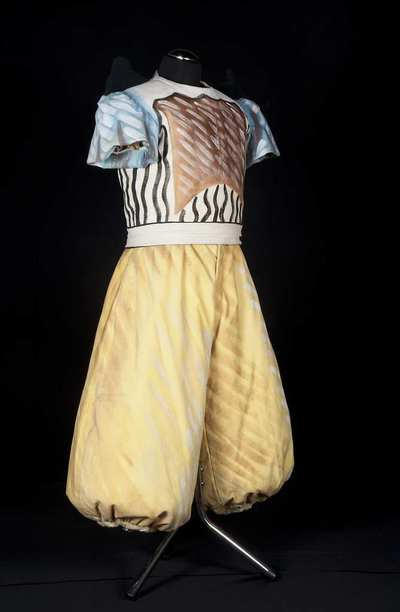 Stage costume  for Araldo o Messaggero  per I Purtitani