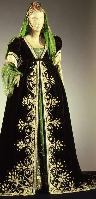 Costume teatrale (Servilia).
