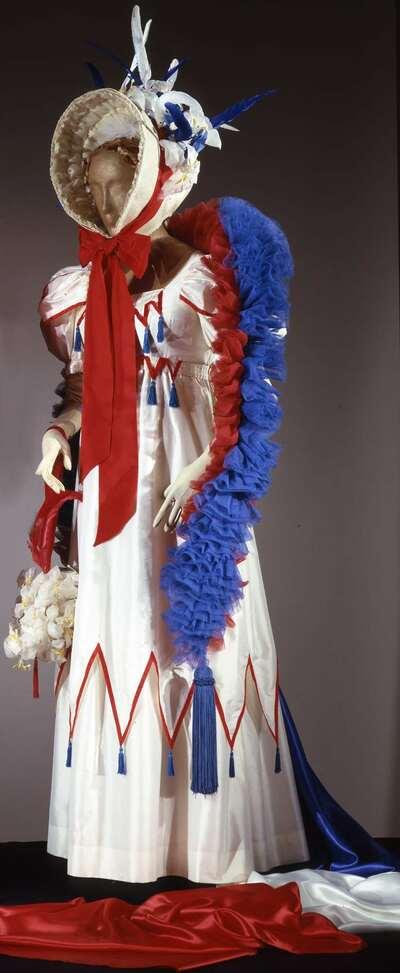 Costume teatrale (la Contessa di Folleville).