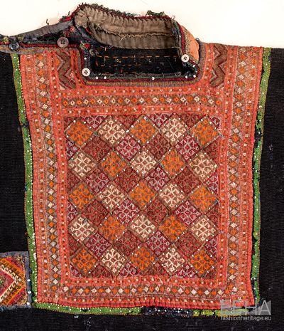 Georgian traditional Khevsurian embroidery.