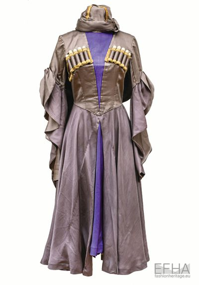The dress of Georgian woman Elene Gvaramadze.