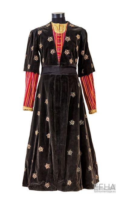 Dress of a Georgian nobleman.