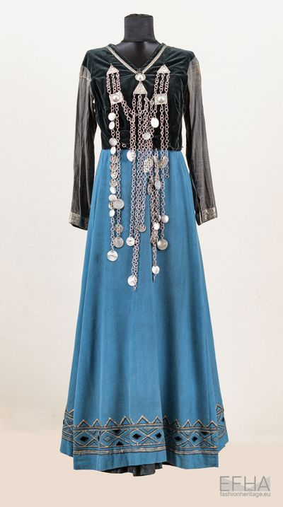 Georgian traditional dress Mtiuluri (Mtiuletian).