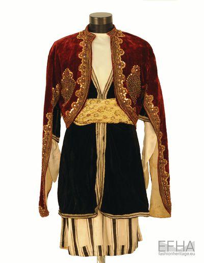 "Costume of Georgian Mamluk from the movie ""Mamluk"" (An Arabic designation for slaves)."