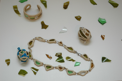 Necklace, Bracelet, and Pendant