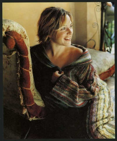 Archivio Missoni - Actress Kate Winslet in a Missoni Coat