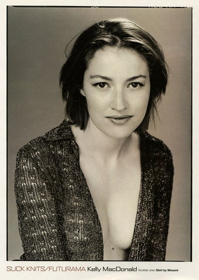 Archivio Missoni - Scottish Actress Kelly MacDonaldi in Missoni Shirt