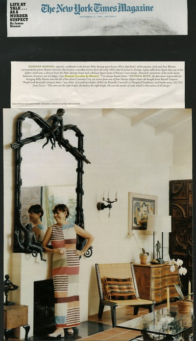 Archivio Missoni - Artist Barbara Howard wears a Missoni Dress