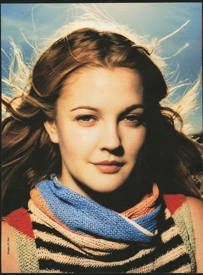 Archivio Missoni - Drew Barrymore dressed in Missoni