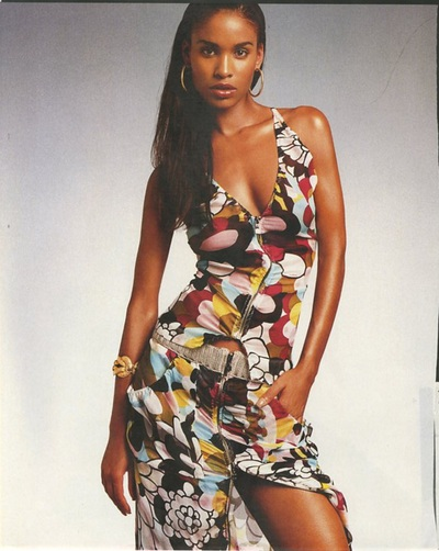 Archivio Missoni - Actress Joy Bryant wears a multicolor Dress by Missoni