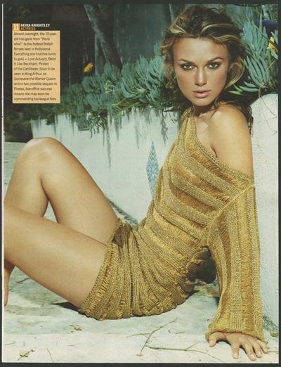 Archivio Missoni - Keira Knightley in Lem Dress by Missoni